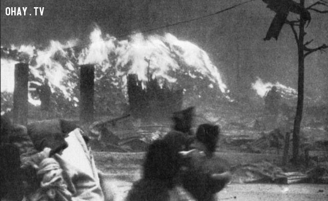 ảnh bom nguyên tử,sự thật,hiroshima,little boy