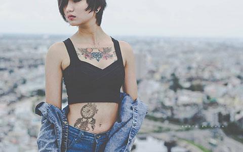 Nữ 9x Sài Gòn với những hình xăm cực ấn tượng