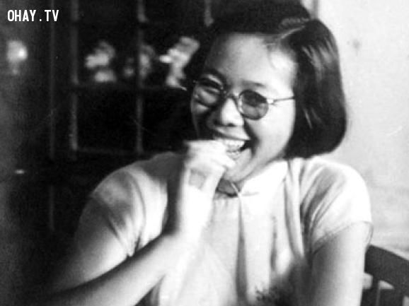 Kha Ngọc Chi thời trẻ.