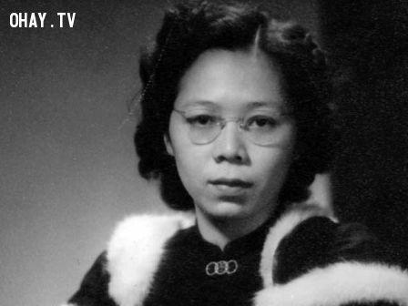 Bà Kha Ngọc Chi thời trẻ