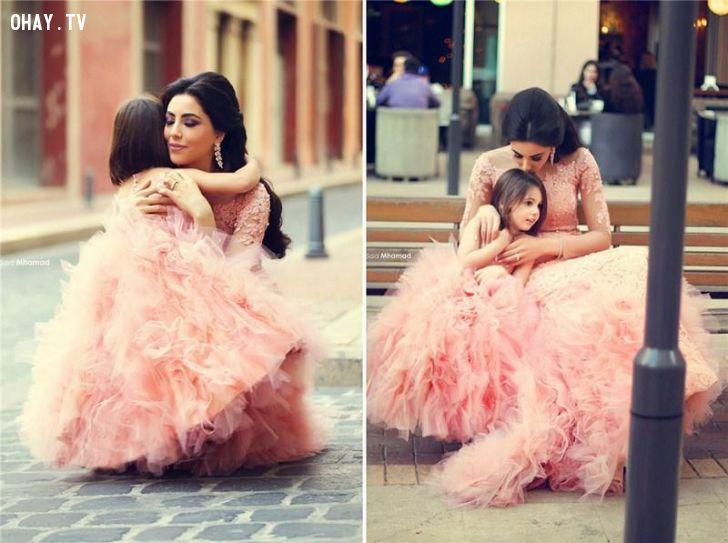 ảnh mẹ và con gái,con gái,thư của mẹ