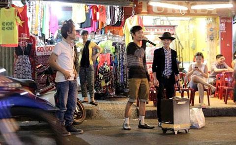 Lệ Rơi, Bùi Vĩnh Phúc, Thánh bàn chải gây kẹt xe ở Sài Gòn