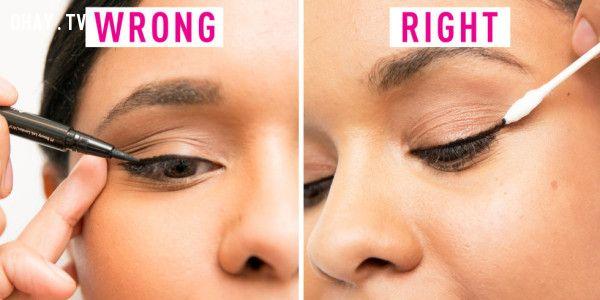 ảnh Lỗi make up,làm đẹp,kem che khuyết điểm,make up,lưu ý khi make up,trang điểm