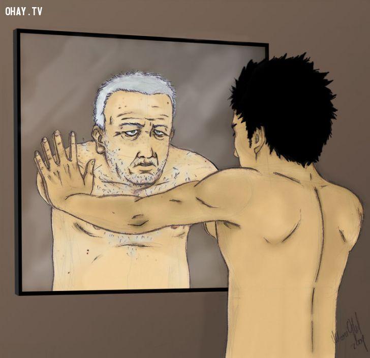 ảnh cuộc sống,tâm lý,tự nhận thức bản thân