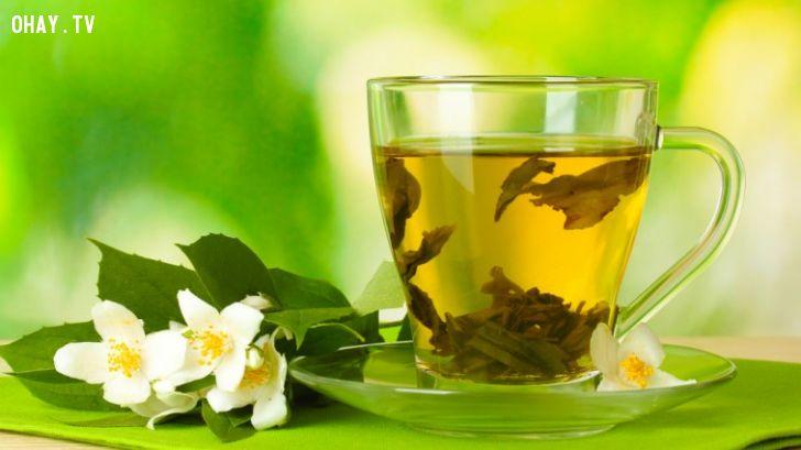 ảnh sức khỏe,trà xanh,giảm cân,chống lão hóa,bệnh tim mạch