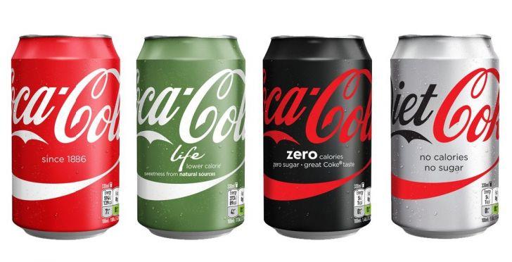 Diện mạo bao bì mới của một số sản phẩm Coca-Cola