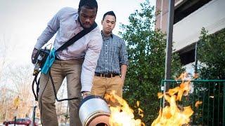 Sinh viên gốc Việt phát minh máy dập lửa bằng sóng siêu âm
