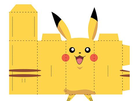 Cách gấp giấy hình Pikachu siêu dễ thương