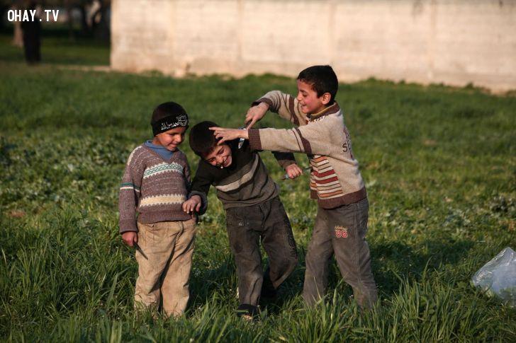 ảnh chiến tranh,trẻ em,tin ảnh,hình ảnh