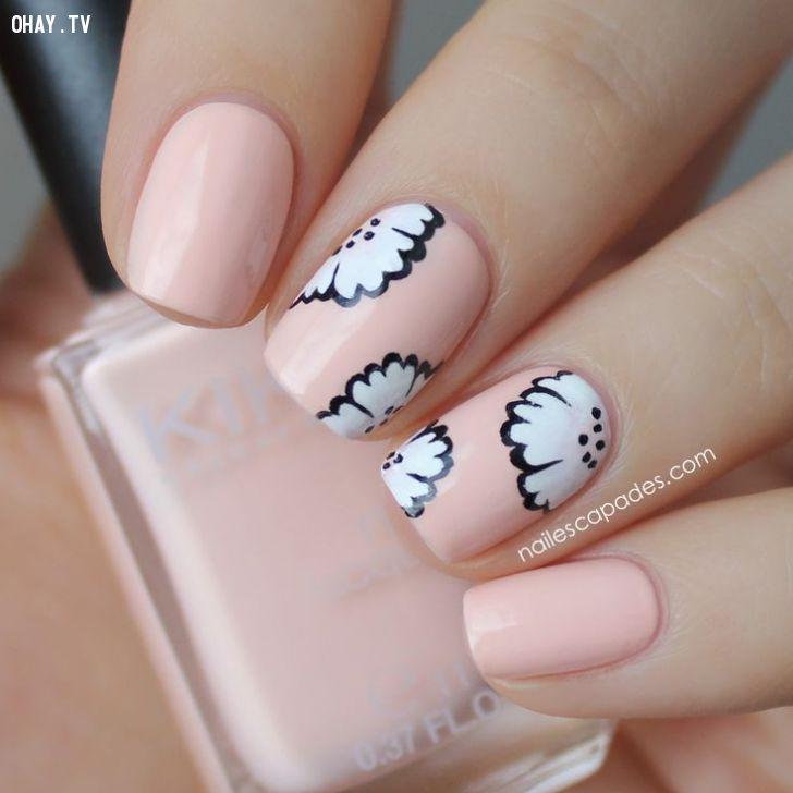 ảnh sơn móng tay,làm đẹp,mẫu nail đẹp,làm nail,làm móng,mẫu móng tay đẹp