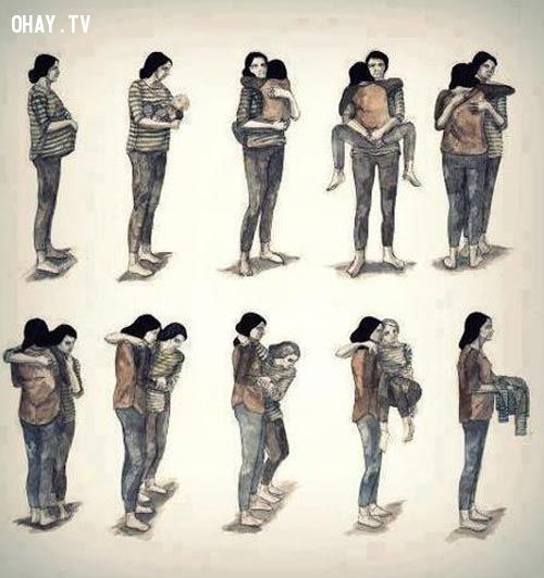ảnh cha mẹ,cảm động,gia đình