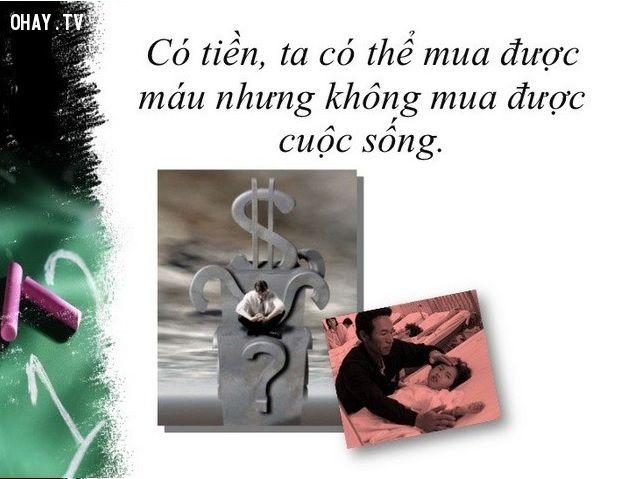 ảnh tiền,cuộc sống,tiền không phải là tất cả,câu nói hay về tiền