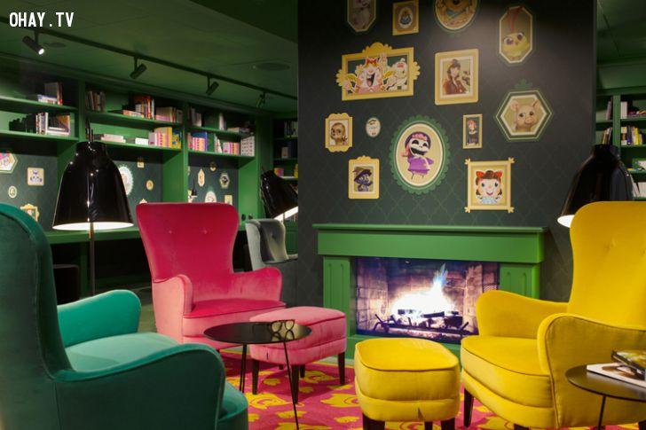 ảnh văn phòng,Candy Crush,văn phòng đẹp,không gian đẹp