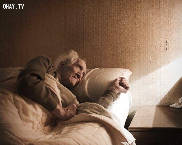 ảnh nhật bản,người già,chết cô đơn