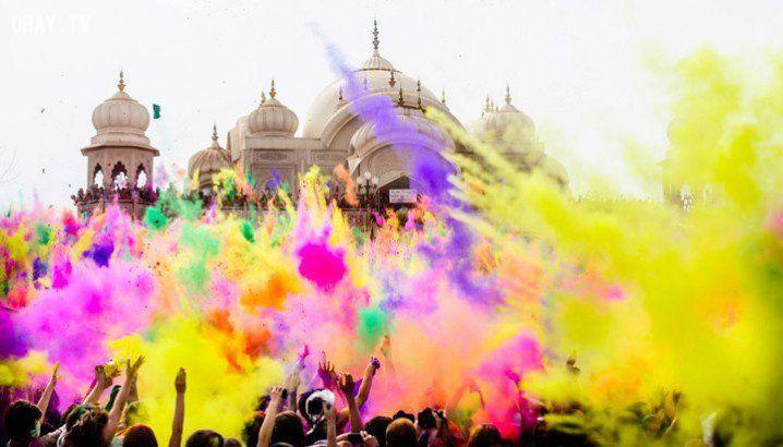 ảnh lễ hội,đặc sắc,thế giới,màu sắc