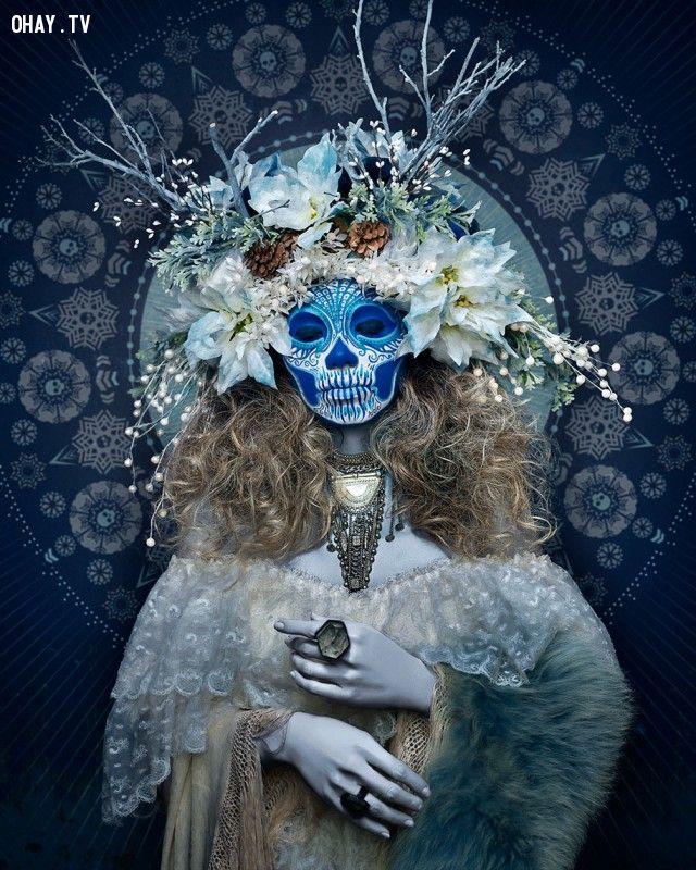 ảnh lễ hội,hóa trang,lễ hội thần chết