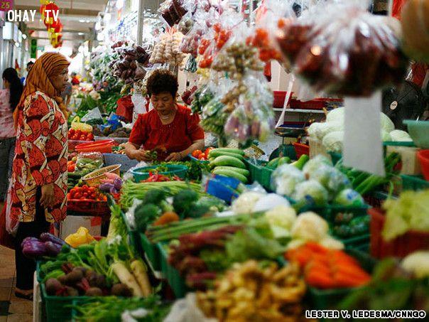 ảnh du lich,du lịch singapore,singapore,chợ singapore