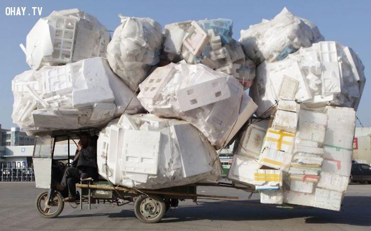 ảnh siêu xe,quá tải,hình ảnh độc,xe chở hàng quá tải