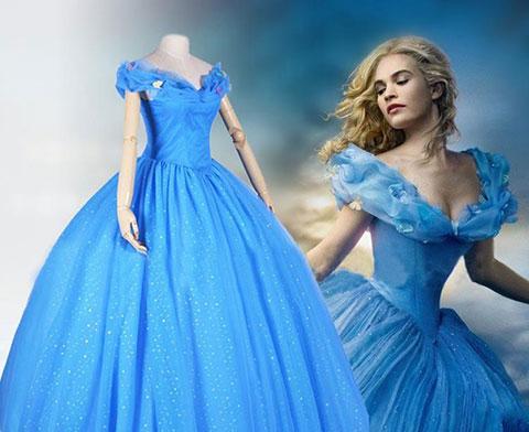 """8 bí mật chưa được bật mí về chiếc váy trong \""""Cô bé Lọ Lem\"""""""