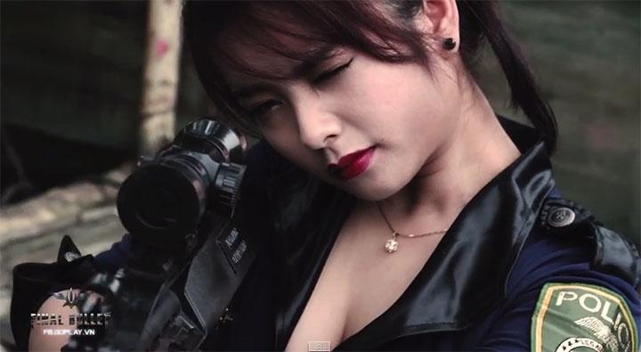 Final Bullet Việt tung clip nữ game thủ bắn súng cực đỉnh
