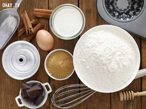 Những loại bột nở cơ bản khi làm bánh