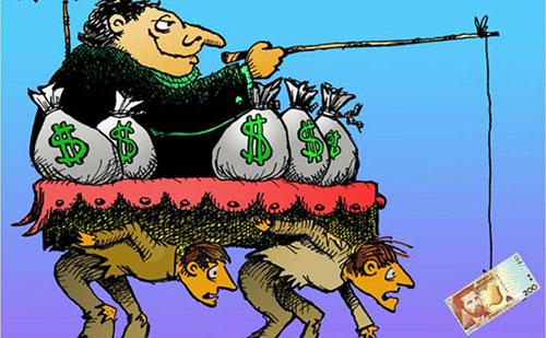 9 bức hình biếm họa về khoảng cách giàu nghèo khiến bạn ám ảnh
