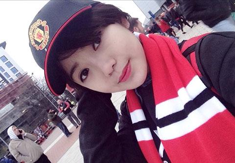 Thánh nữ MU Nguyễn Tú Linh trên K+ trận derby thành Manchester