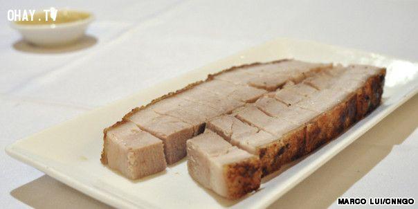 ảnh Hồng Kông,món ăn,thịt lợn,ẩm thực