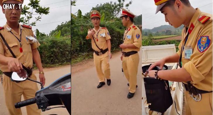 ảnh csgt,cảnh sát giao thông,kiểm tra hành chính