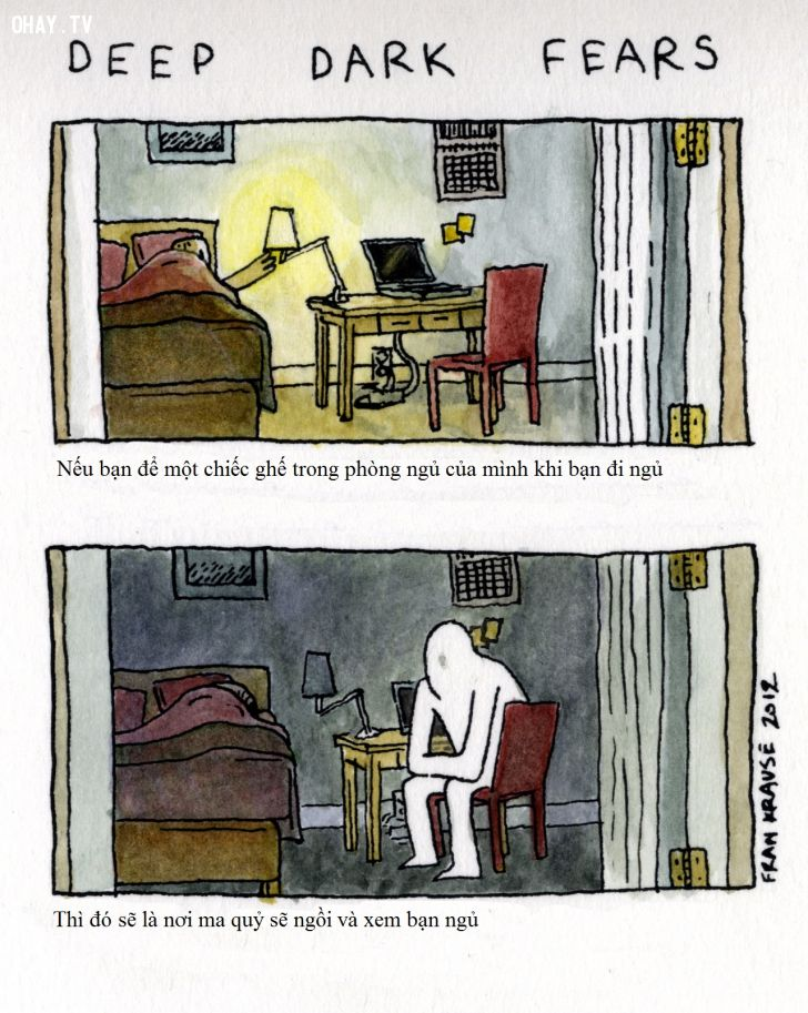 ảnh sợ hãi,đen tối,truyện tranh,rùng rợn,kinh dị
