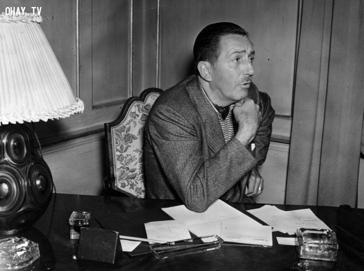ảnh Walt Disney,bài học,khởi nghiệp,thất bại,ước mơ