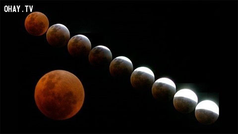 """Bí quyết xem hiện tượng \""""Mặt trăng máu\"""" vào ngày 04/04/2015 tới đây"""