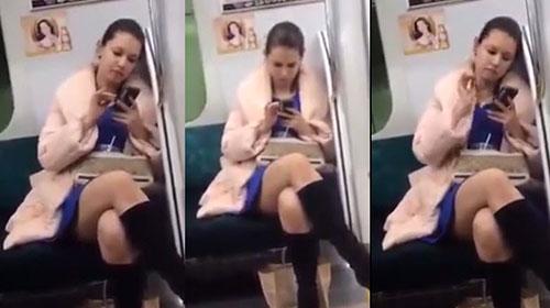 Sinh viên Việt du học tại Nhật gặp Maria Ozawa trên tàu điện ngầm