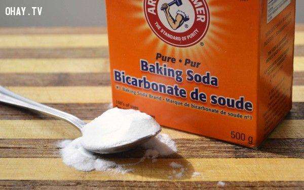 ảnh bột nở,men nở,bột mỳ,làm bánh,nấu ăn,nguyên liệu,baking soda,baking powder,hướng dẫn nấu ăn,dạy nấu ăn