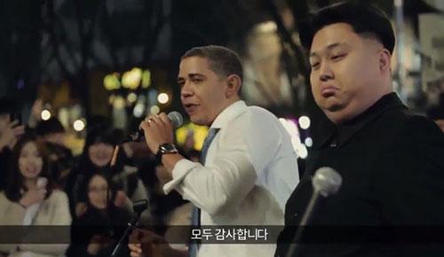 Obama và Kim Jong Un cùng hát All By Myself chế