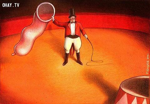 Nghệ thuật châm biếm đáng suy ngẫm qua tranh Pawel Kuczynski