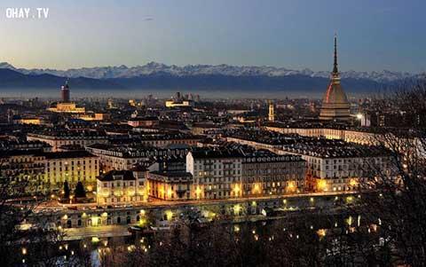Thưởng thức hương vị ngọt ngào ở Turin