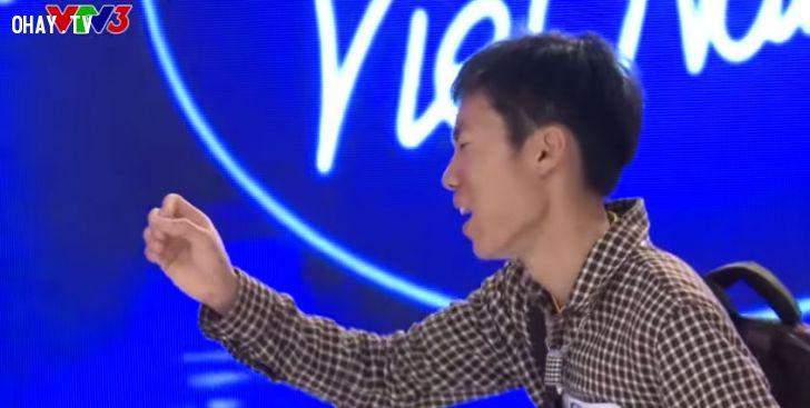 ảnh vietnam idol 2015,gameshow,vietnam idol hài hước,say tình,võ đình sơn
