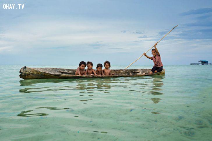 ảnh Du lịch Malaysia,du lịch đảo Borneo,nhiếp ảnh gia Réhahn,người cá Bajau,bộ tộc người cá