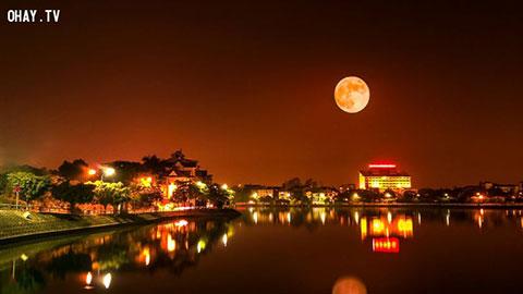 Chiêm ngưỡng hình ảnh Trăng Máu tuyệt đẹp được chụp tại Việt Nam