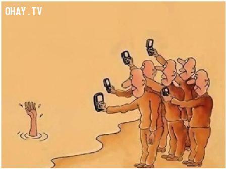 ảnh bệnh của giới trẻ,nan y,mạng xã hội