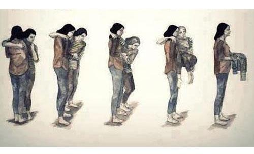 Những bức hình về cha mẹ khiến bạn bật khóc