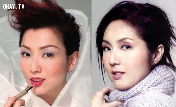 ảnh Sao Hoa Ngữ,Sao Châu Á,giống nhau,sao giống nhau,người nổi tiếng,giống nhau như 2 giọt nước
