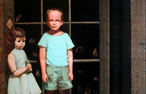 Bức tranh ma quái của Bill Stoneham