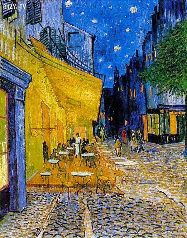ảnh tranh,nổi tiếng mọi thời đại,tranh đẹp,bức họa nổi tiếng,hình vẽ đẹp,The Ship of Fools by Hieronymous Bosch,The Beheading of Saint John the Baptist by Caravaggio,Saturn Devouring His Son by Francisco Goya,Café Terrace at Night by Vincent Van Gogh,The Scream by Edvard Munch