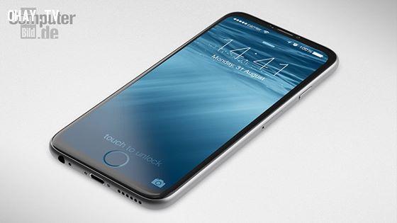 Dự đoán Iphone 7 với nút Home tích hợp màn hình siêu rộng