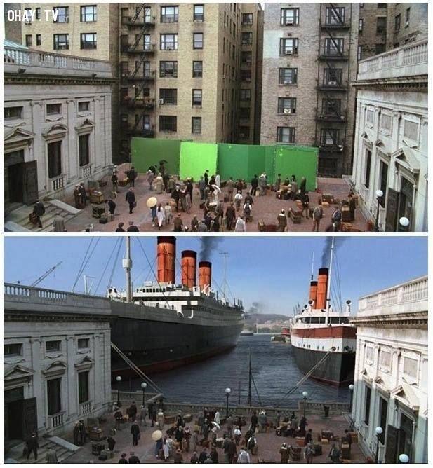ảnh Hollywood,kỹ xảo,hậu trường làm phim,xử lý hậu kỳ