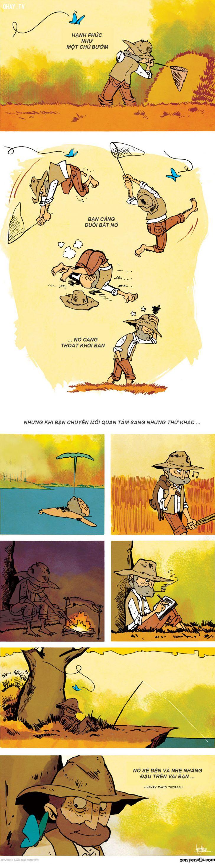 ảnh comic,hạnh phúc,ý nghĩa,tranh vẽ,tranh vẽ cuộc sống,bản chất