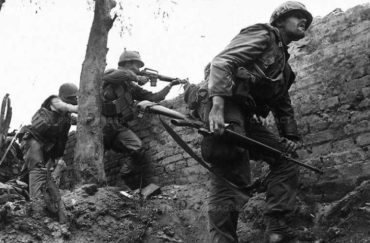 Ảnh chụp chiến tranh Việt Nam 1968