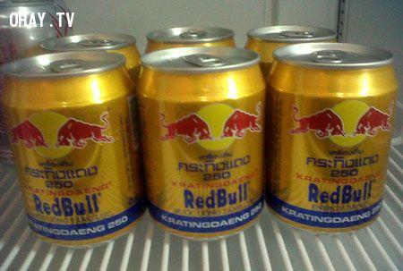 red bull và sự thật về nó